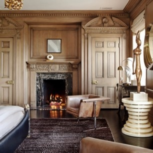 Kelly Teske Goldsworthy Wearstler My Bedroom Xk Interior Design BooksFireplace