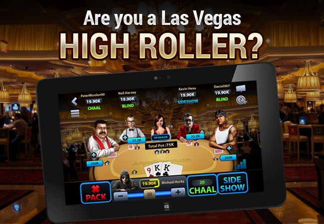 Be a High Roller in Las Vegas, the City of Casinos!! Update your app now and play with new Avatars on Premium Themes! Love Private Chats? We have included it also! Download from Google PlayStore Now!