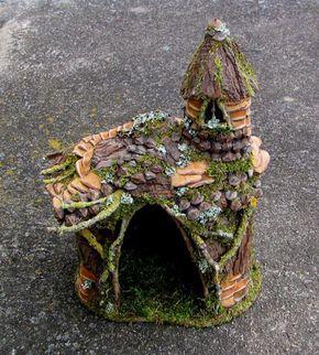 Fairy house turret