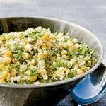 Quinoa, Corn and Herb Salad