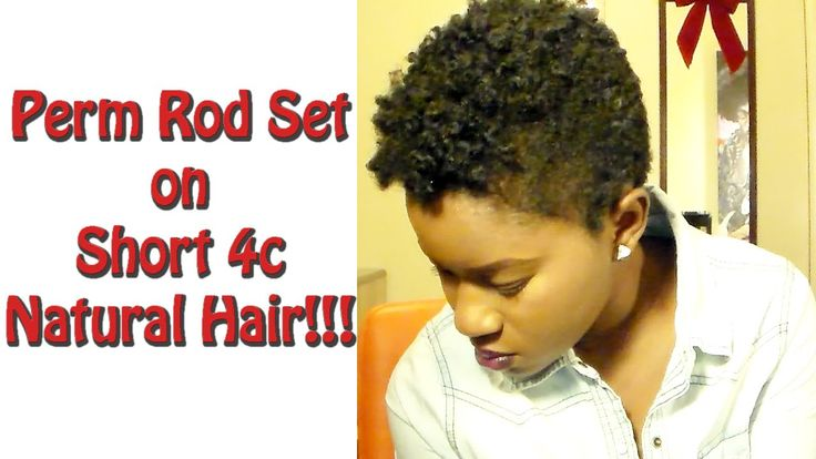 Quick, simply, and easy perm rod set on 4c natural hair! Hope you all enjoy, until next time...~Mona B. Twist Out on Short (TWA) 4c Natural Hair: https://www...