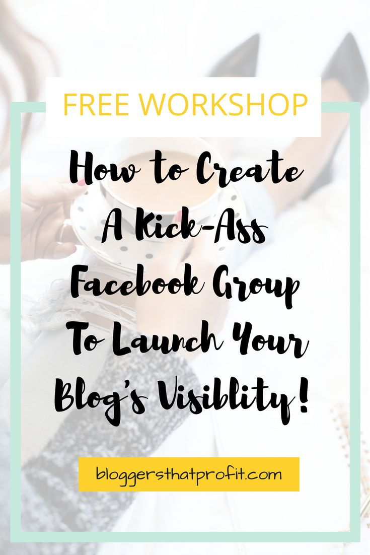 Want to increase your blog's visibility? See how to create a kick-ass Facebook Group to launch your blog's presence!