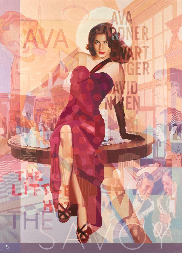 VIDA Tote Bag - Frida Kahlo & Ava Gardner by VIDA na2tg97d