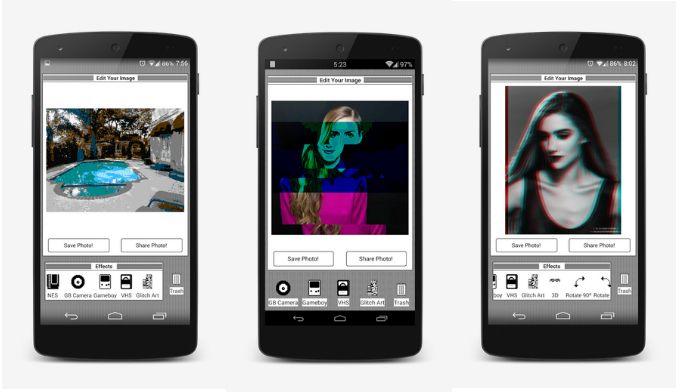 Glitchr, un nuevo editor de fotos retro para tu Android http://www.elandroidelibre.com/2014/03/glitchr-un-nuevo-editor-de-fotos-retro-para-tu-android.html