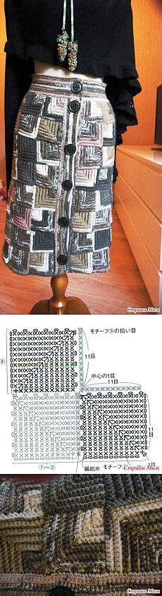 А вот кому юбки? теплые юбки крючком...: Дневник пользователя YaLF - Страна Мам