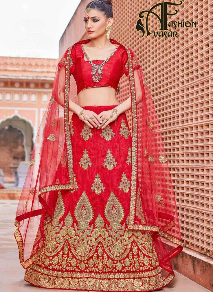 Lehenga Online – online wedding designer lehenga | buy lehenga choli in india