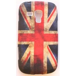 Galaxy Trend Iso-Britannian lippu silikonisuojus.