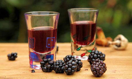How to make blackberry wine and whisky...brilliant...the perfect reason to NOT cut down the fairytale sized mound of blackberry in the garden
