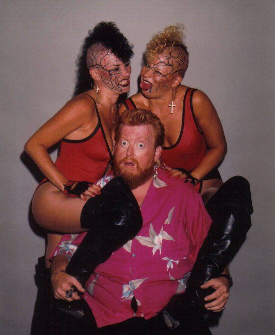 The Lock & Luna Vachon with Sir Oliver Humperdink