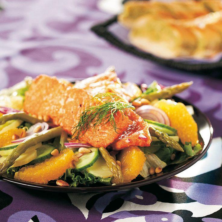 Marinoitu lohisalaatti | K-ruoka #sitrushedelmät