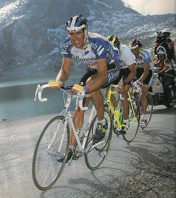 Vuelta a España 1991, Indurain, Lejarreta, Echave, en la etapa de Cerler.
