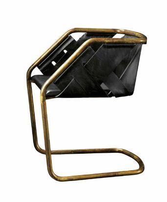 Dining chair-Primeiro a lina, depois pmr agora é a vez do Massimo Castagna; 'Strip' Chair for Henge, 2013.