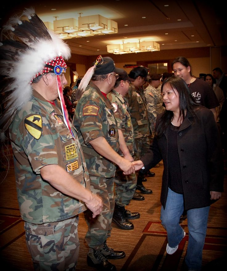 First Nations Veterans In Washington, D.C.