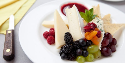 Artisan Cheese, Fresh Fruit & La Jolla Groves' Hearth Breads