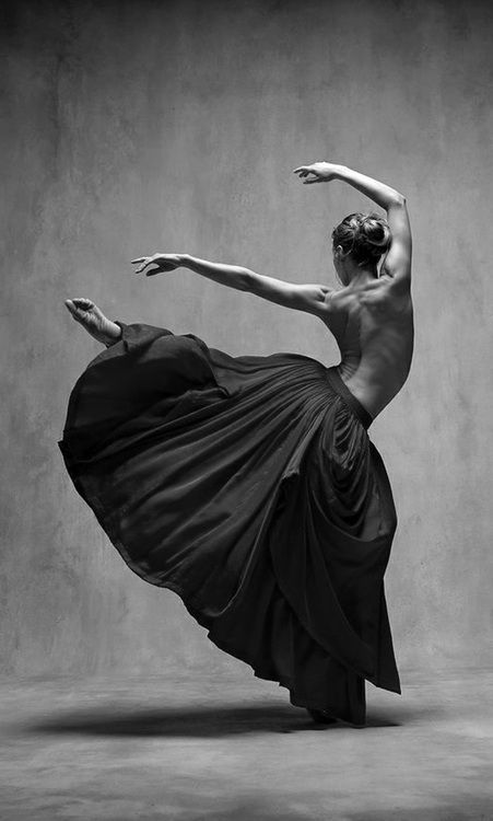 Dance-Love the long skirt! Hard to dance in-love the look!