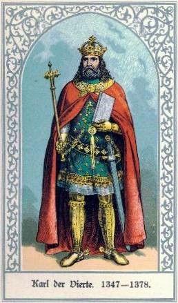 Die deutschen Kaiser:Karl IV. und Günther von Schwarzburg – Wikisource
