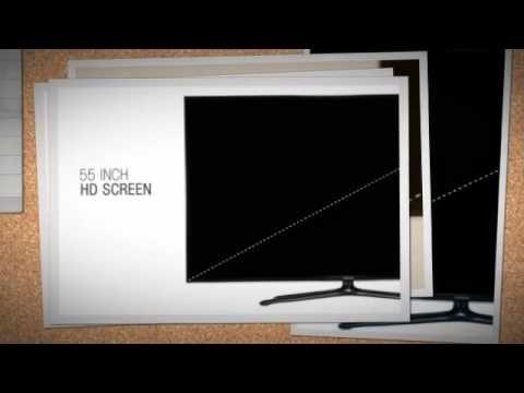 Samsung UN50F6400 50-Inch 3D Slim Smart LED HDTV