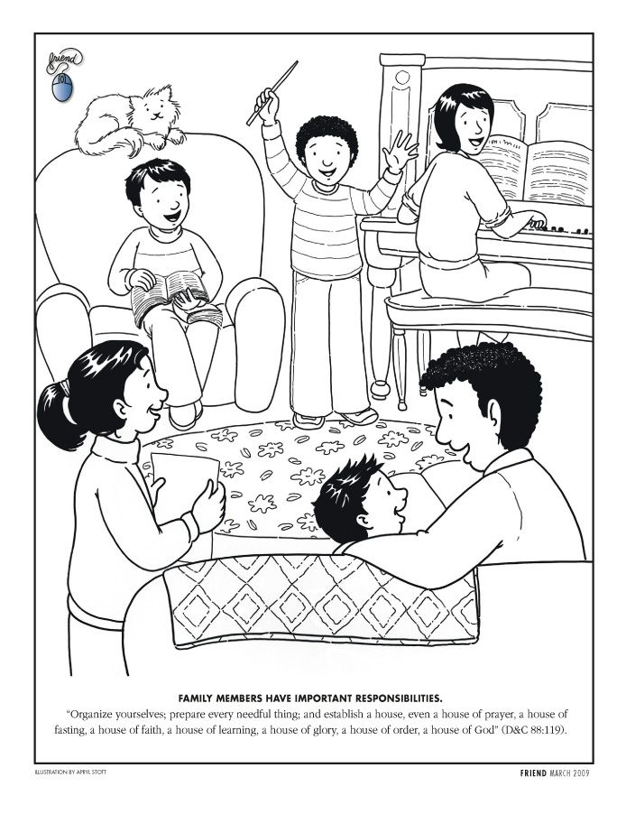 Amazing Lds Prayer Coloring Page 96 Primary Coloring Page Family