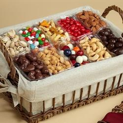 Sweets & Nuts gift basket