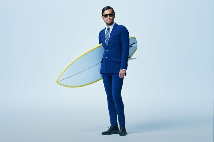 True Wetsuits Offer Waterproof Businesswear for the Surfing Enthusiast #menswear trendhunter.com