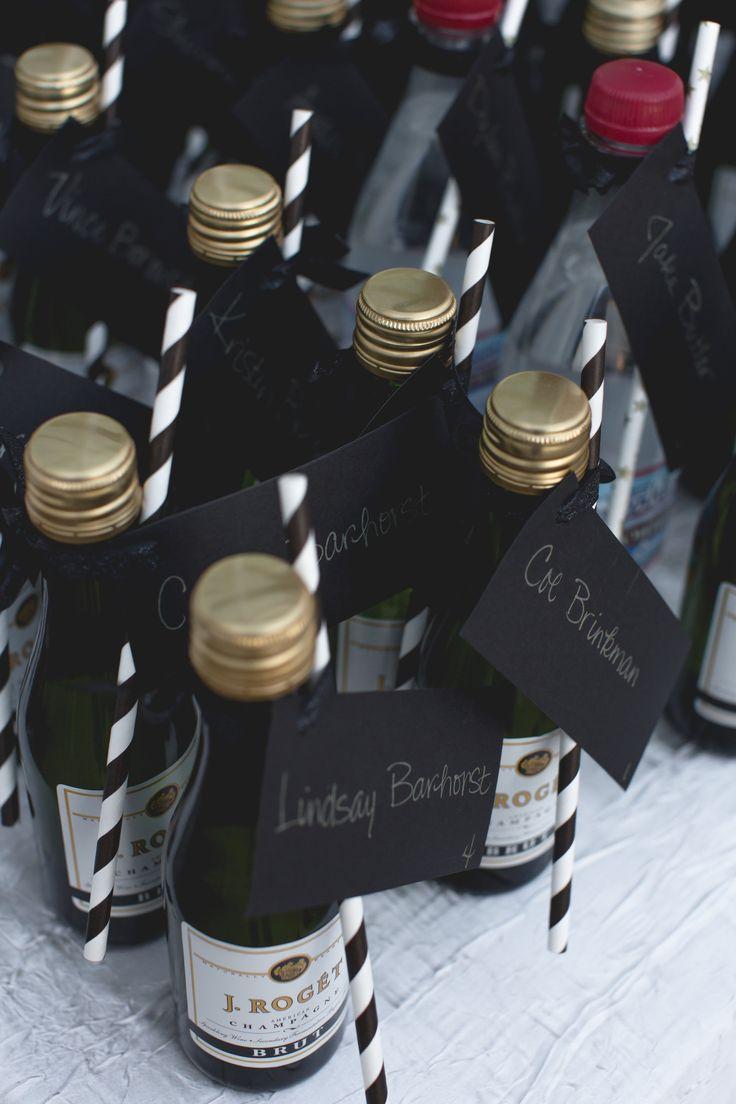 10 Ideas About Mini Champagne Bottles On Pinterest