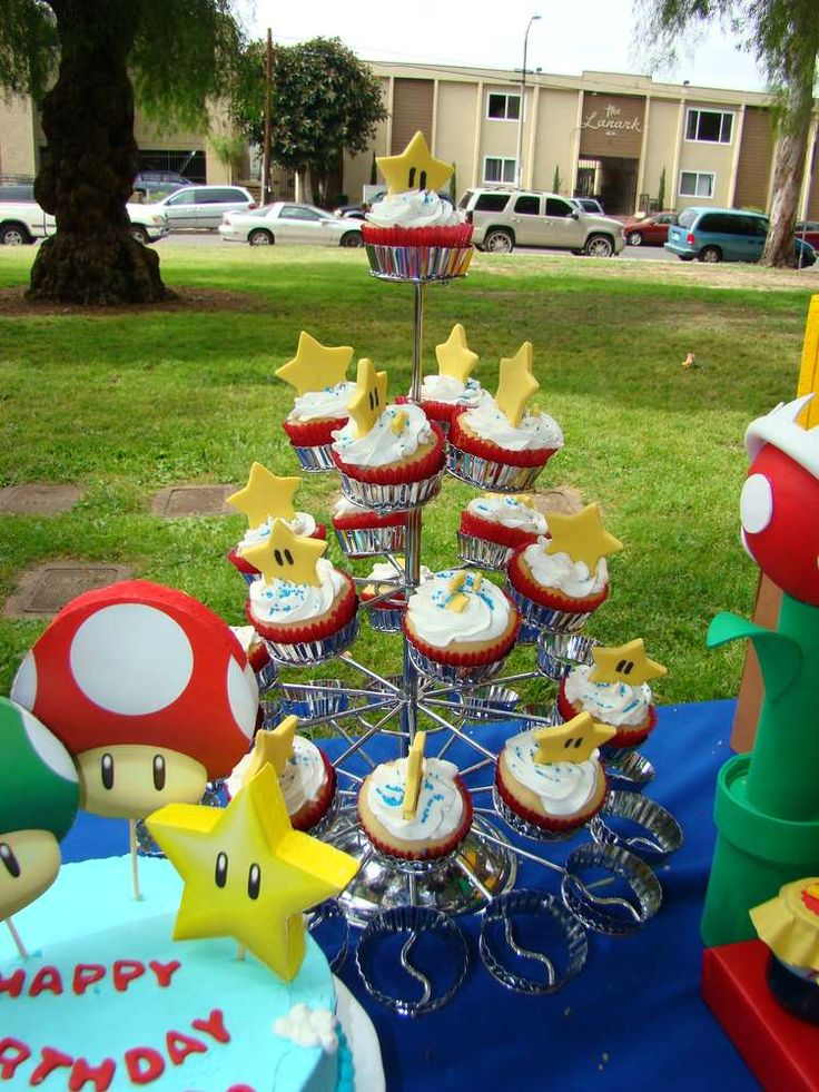 Super Mario Brothers Birthday Party Ideas