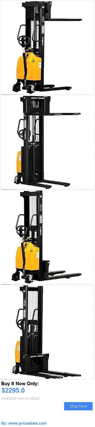 heavy equipment: Combination Battery Powered And Hand Pump Lift High Pallet Jack Stacker 98 Lift! BUY IT NOW ONLY: $2295.0 #priceabateheavyequipment OR #priceabate