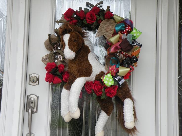 Kentucky Derby Horse Wreath