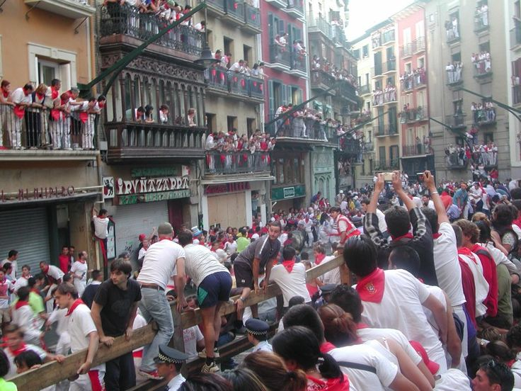 San Fermin Festival - the running of the bulls. #readysetexperience #holiday #festival #summer #explore #countdownapp #holidayapp #readysetholiday https://blog.readysetholiday.co/san-fermin-festival-883b7b839127#.pizvlmv7g