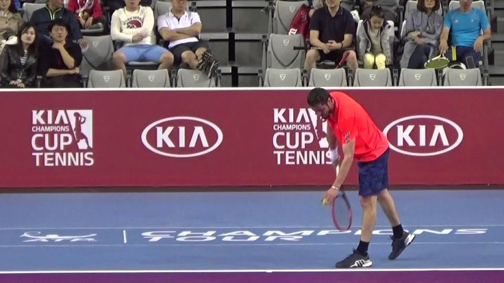 Goran Ivanisevic vs  Marat Safin 1set Kia Motors Champions Cup Tennis 20...