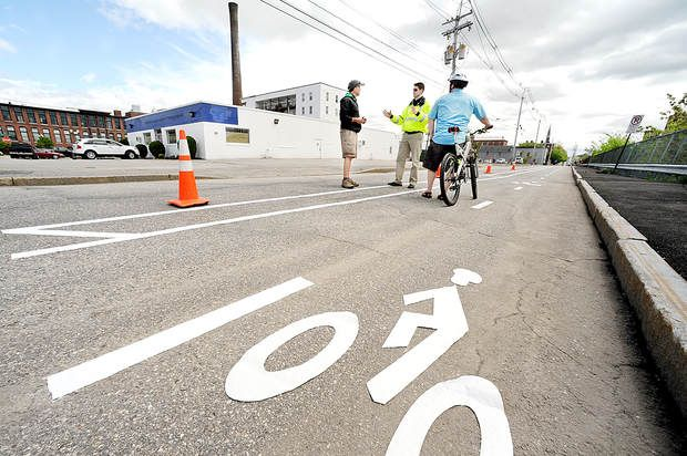 Demonstration aims to temporarily narrow Lewiston street | Sun Journal
