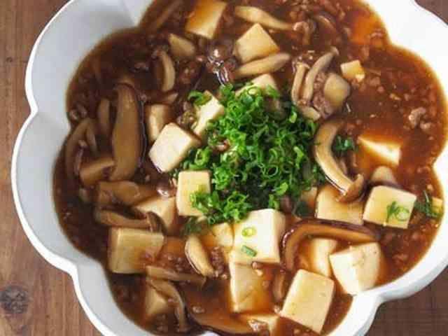和風マーボー豆腐♪