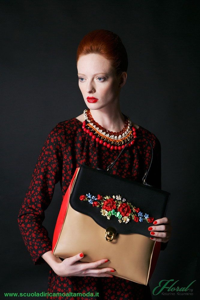 23 best images about embroidered by katerina kouzmina for Scuola di moda roma