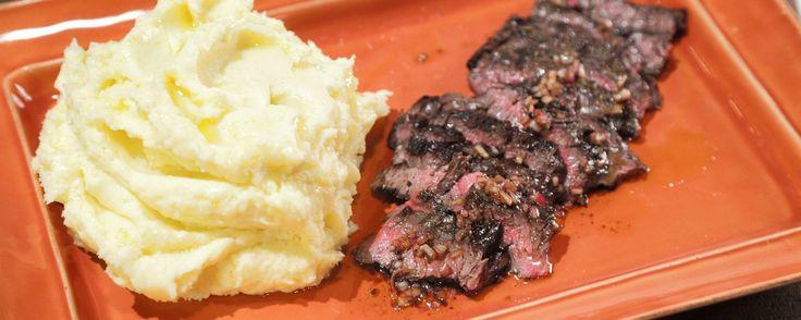 potato recipes mashed potatoes black truffle mario batali skirt steak ...