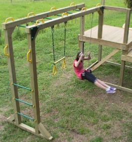 Free Monkey Bars Plans Outdoor Spaces Landscaping