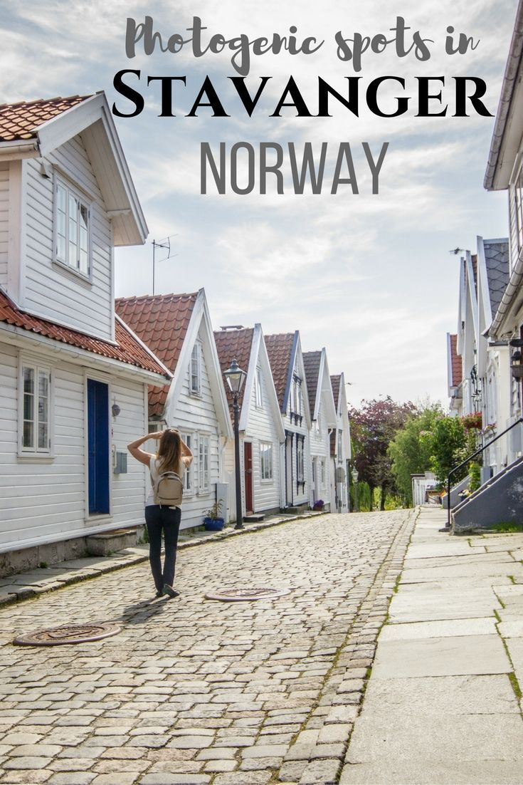 From colourful Øvre Holmegate to historic Gamle Stavanger, here are the best spots in Stavanger, Norway for both photography and exploring.