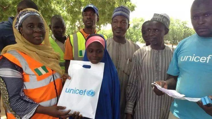 Nigeria's teenage girls forcefully abducted by Boko Haram Read more: https://www.naij.com/1099841-focus-nigerias-teenage-girls-forcefully-abducted-by-boko-haram.html