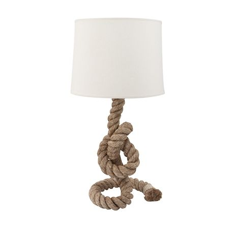 Pier Rope Table Lamp 82cm