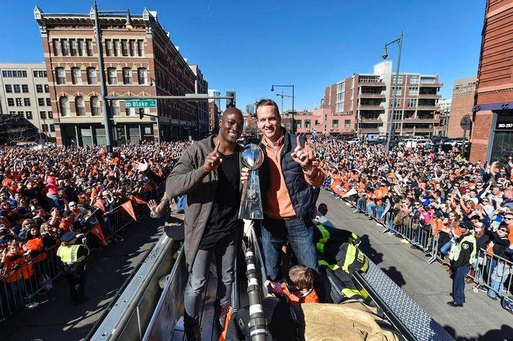 Broncos Super Bowl parade runs through downtown Denver