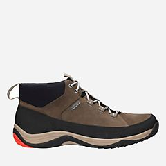 Baystone Hi GTX Mushroom Nubuck - Men's GORE-TEX® Waterproof Boots - Clarks® Shoes Official Site