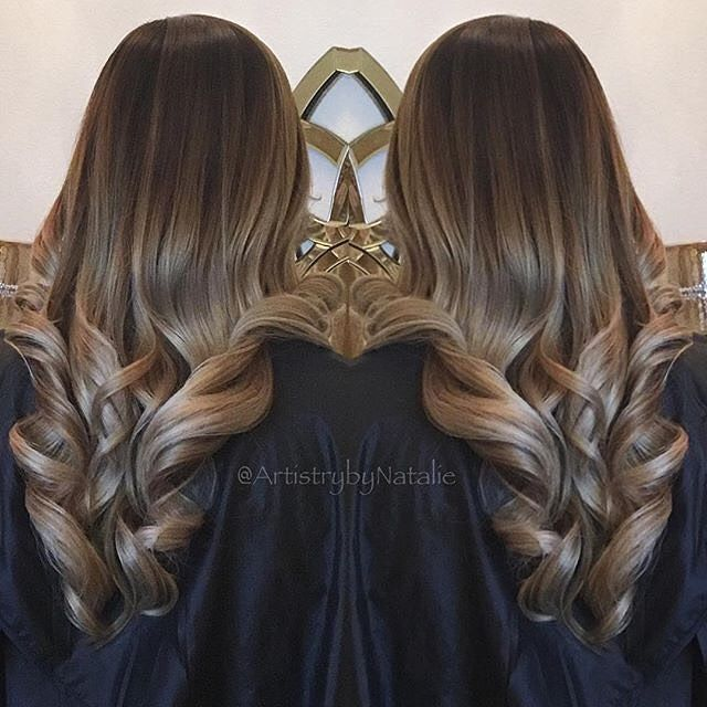 Knee deep in envy over this #MatrixColor. ❤️✂️❤️ #matrixhair || : @artistrybynatalie