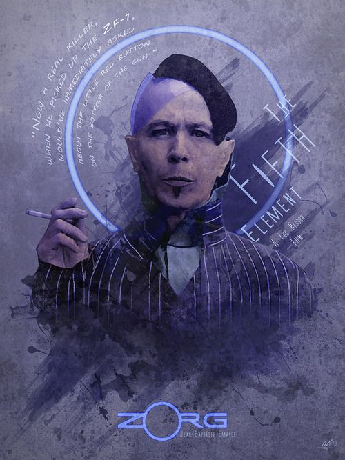 The Fifth Element - Zorg by Anthony Genuardi * LOVE THIS MOVIE - 5TH ELEMENT IS GREAT!