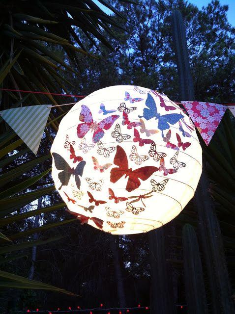 Hilos de azúcar: DIY; Una lámpara muy veraniega...