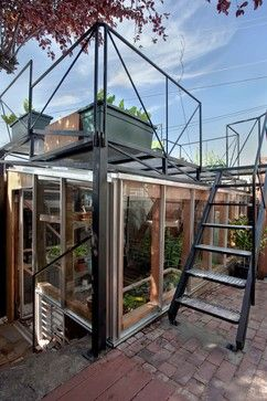 Bernal Heights Greenhouse Addition contemporary garage and shed
