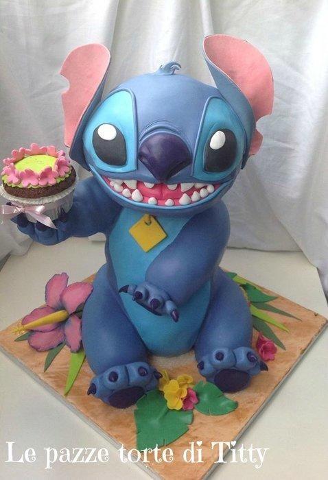 Cake Art | Stitch by Le pazza torte di Titty