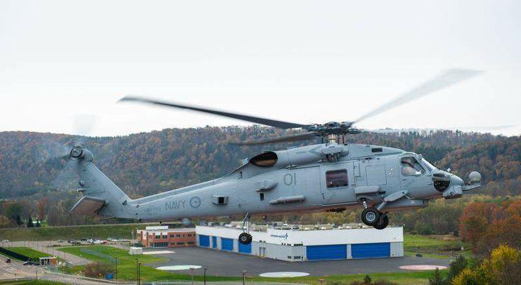 Australian MH-60R at Owego NY, November 2013