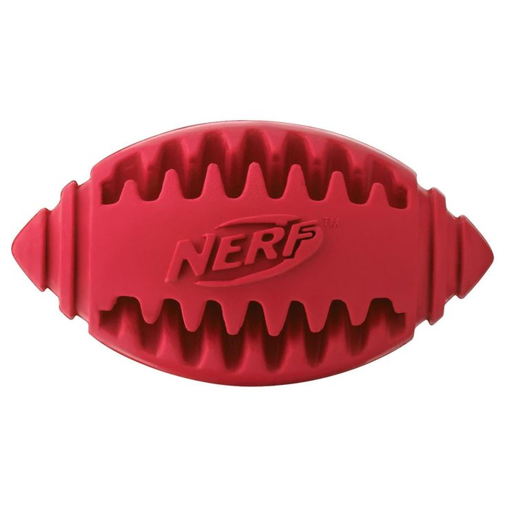 NERF Dog Teether Football, 5-inch //Price: USD & FREE Shipping //     #Oxytocin\'s_Worldwide