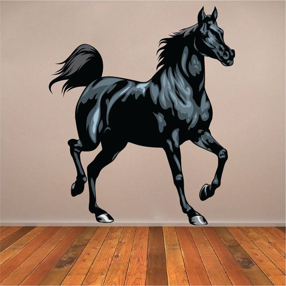 Horse+Wall+Decal+Horse+Wall+Mural+Horse+Wall+Art+by+PrimeDecal