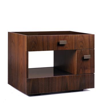 Giorgetti Duet Nighstand - Style # 57850-57856, Modern Bedside Tables & Nightstands | End Tables | Contemporary Small Bedside Table | SwitchModern.com