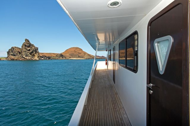 Rooms with a view! Queen B, our private #Galapagos Catamaran/Yacht #gaytravel #outadventures #gaytour #yachtlife #guysthatTravel #OUTinEcuador http://www.out-adventures.com/trip/lesbian-and-gay-ecuador-galapagos-gay-cruise/